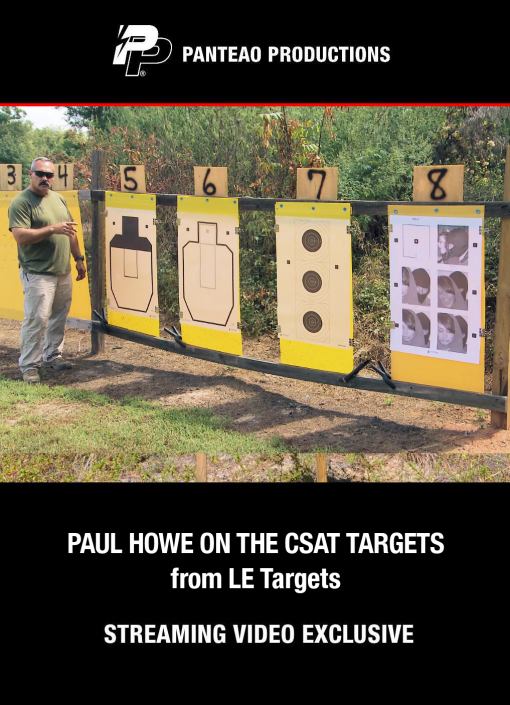 CSAT Targets with Paul Howe Cover