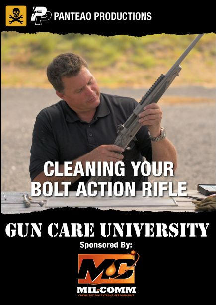 Cleaning Your Bolt Action Cover