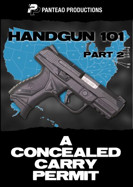 A Concealed Carry Permit Cover