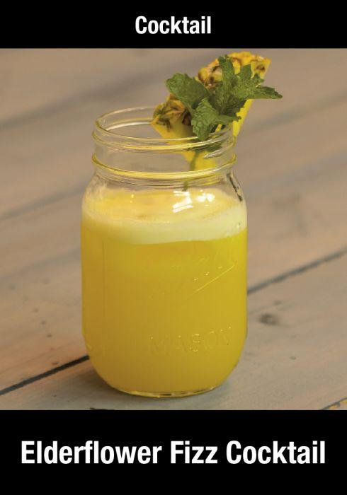 Elderflower Fizz Cocktail