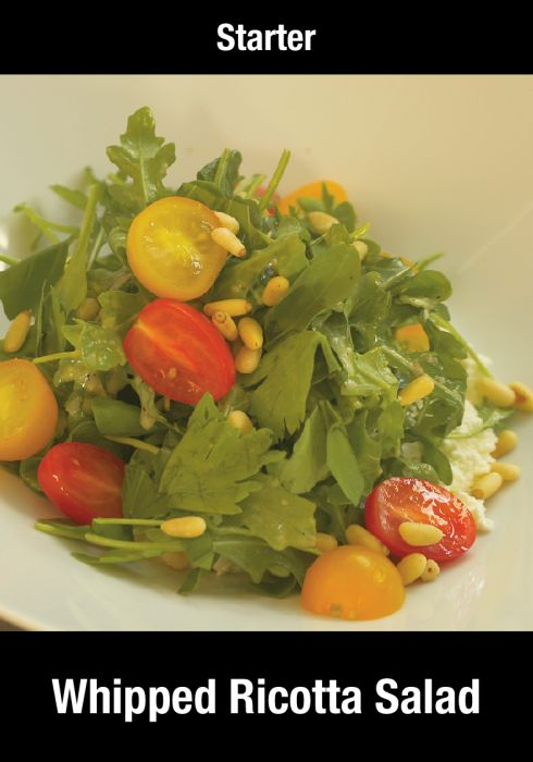 Whipped Ricotta Salad